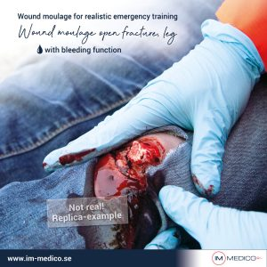 Övningsprodukter sår olycka IM-Medico Erler Zimmer